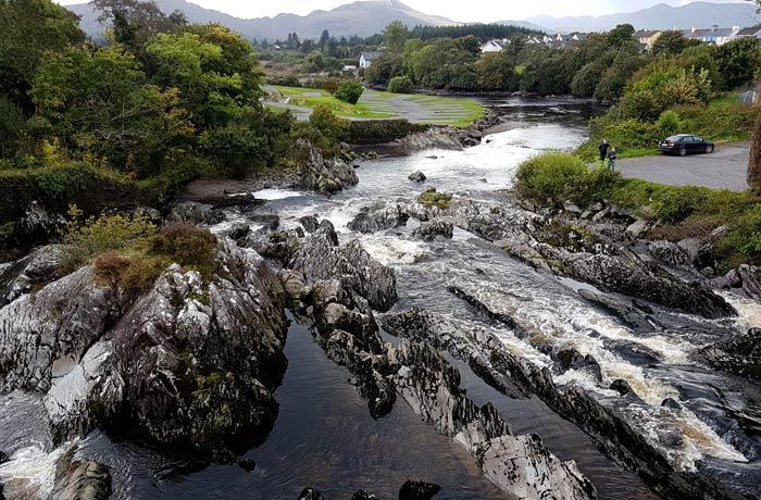 Río Sneem Anillo de Kerry