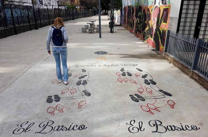 Calle Garibaldi visitar La Boca