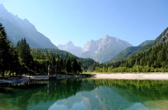 Kranjska Gora ruta por Eslovenia