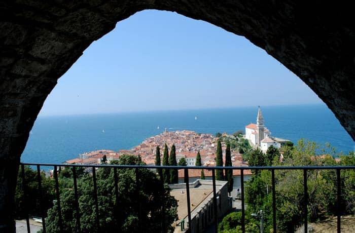 Piran ruta por Eslovenia