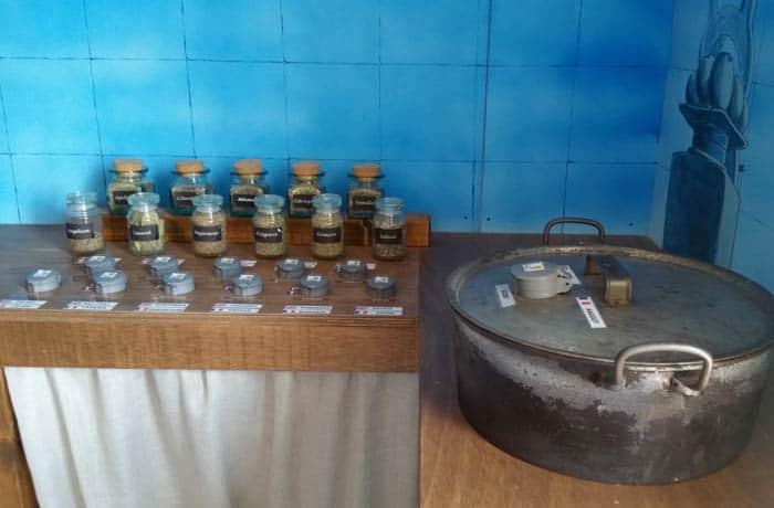 Museo de los Aromas de Santa Cruz de Salceda. Foto: EllíodeAbi Ribera del Duero Burgalesa