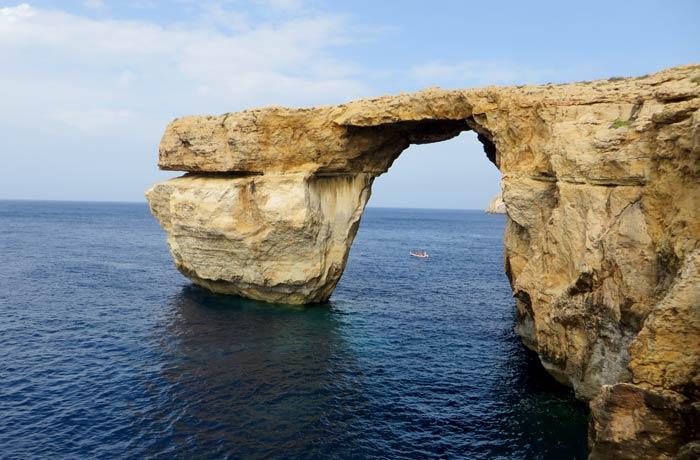 Ventana Azul que ver en Gozo