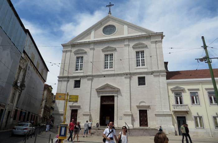 Iglesia de Sao Roque ruta por el Chiado