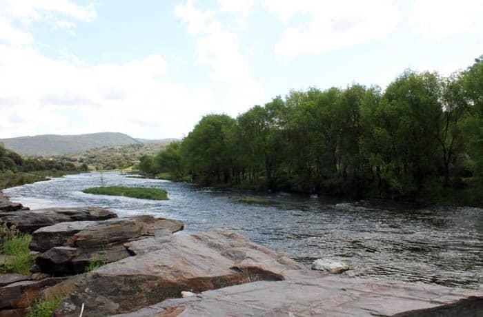 Ribera del río Alagón ruta de los Tres Ríos