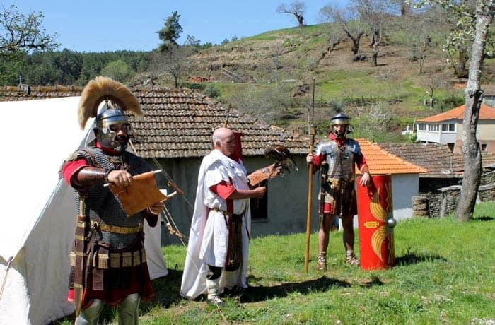 Representación romana en Tresminas