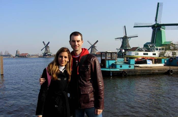Con los molinos de Zaanse Schans Ámsterdam en tres días