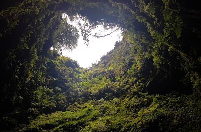 Algar do Carvao en Terceira viajar a las Azores por libre