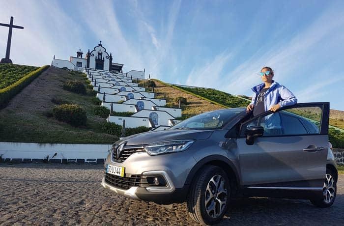 Ermita de Nossa Senhora da Paz en Vila Franca do Campo en Sao Miguel viajar a las Azores por libre