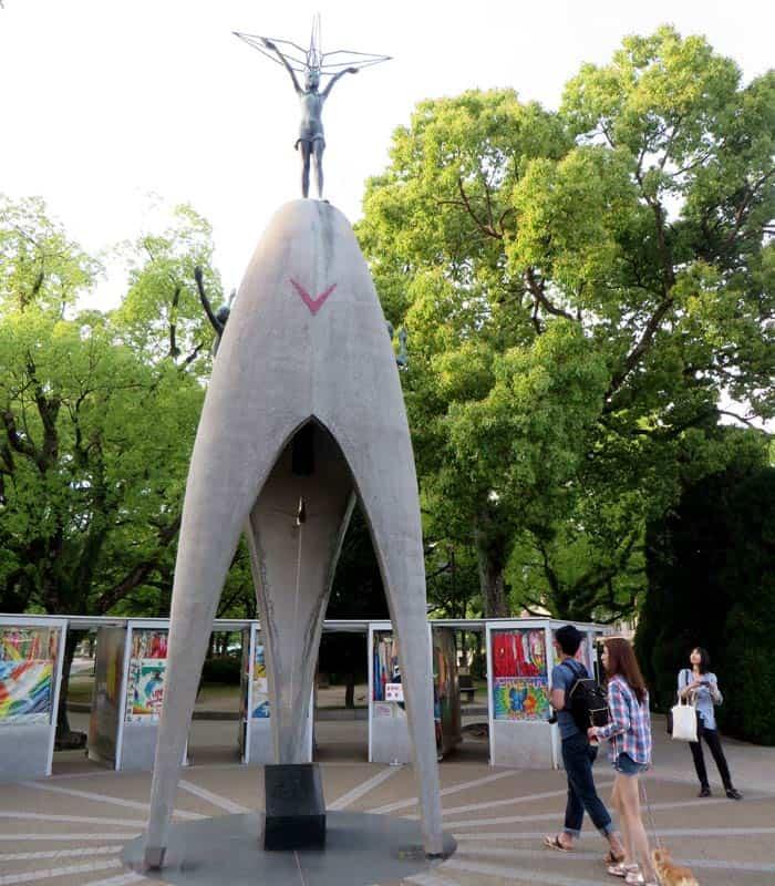 Monumento a la Paz de los Niños que ver en Hiroshima