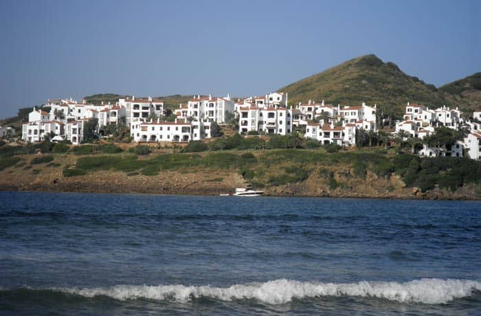 Vista de Playas de Fornells