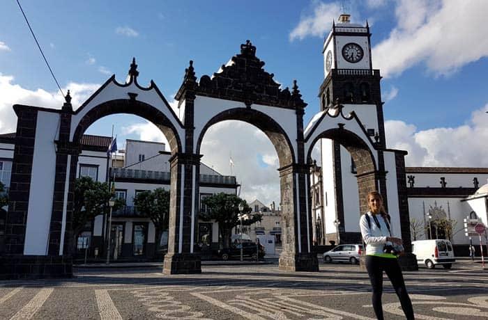 Ponta Delgada, capital de Sao Miguel viajar a las Azores por libre