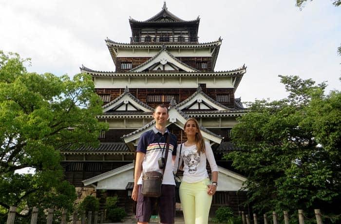 Torre del Castillo de Hiroshima