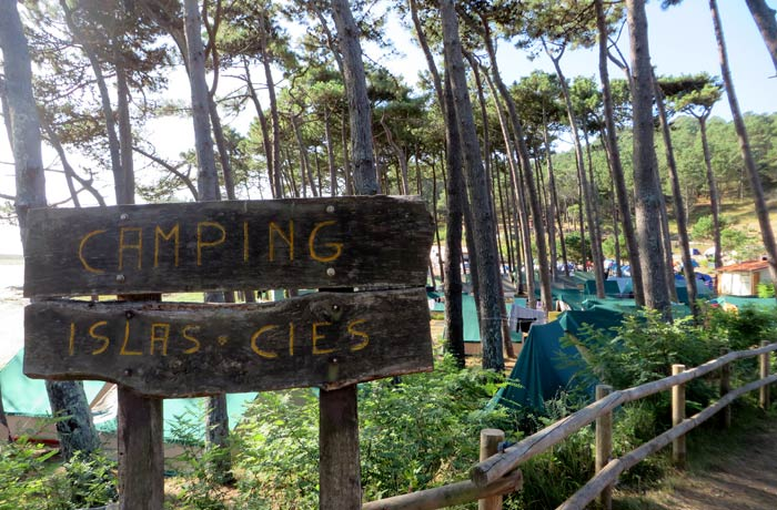 Camping de las Islas Cíes que hacer en las Islas Cíes
