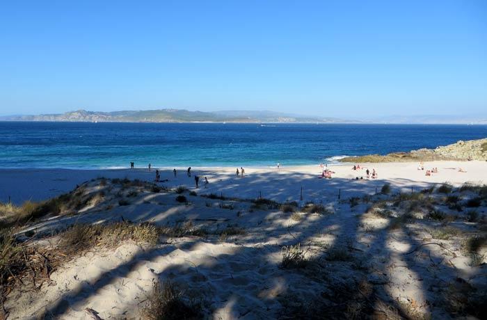 Playa de Figueiras que hacer en las Islas Cíes