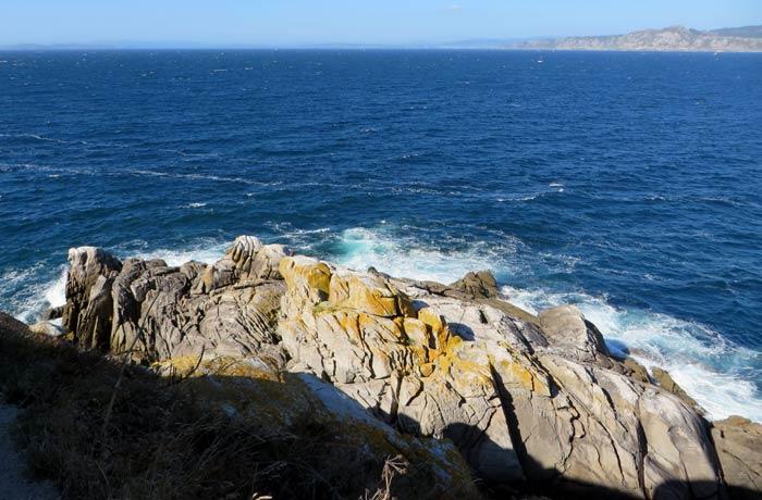 Vistas desde el faro do Peito que hacer en las Islas Cíes
