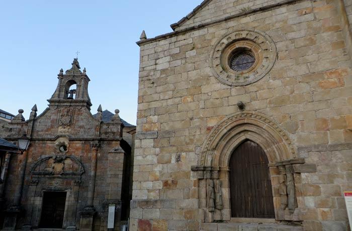 Ermita de San Cayetano e iglesia de Santa María del Azogue en Puebla de Sanabria