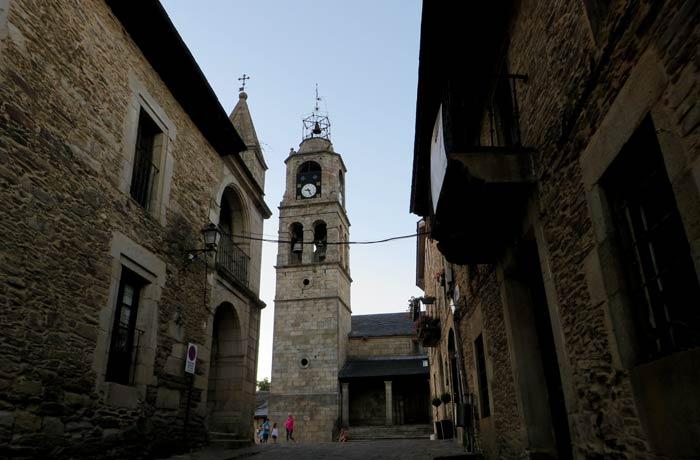 Iglesia de Santa María del Azogue en Puebla de Sanabria