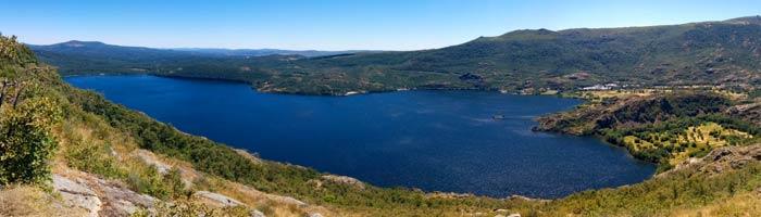 Panorámica del Lago de Sanabria desde la Senda de los Monjes