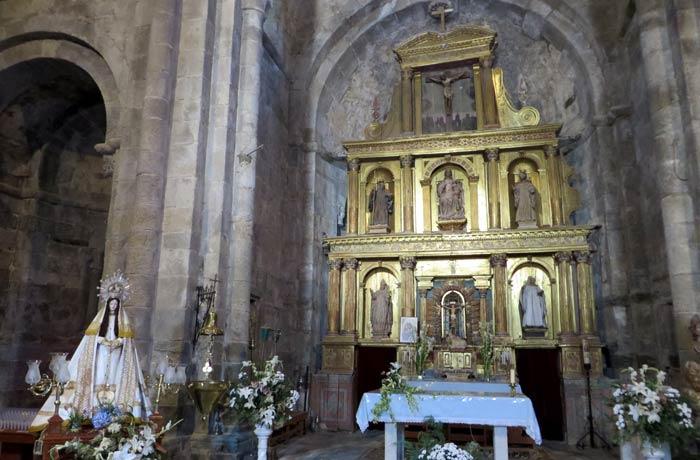 Retablo del Monasterio de San Martín de Castañeda Lago de Sanabria