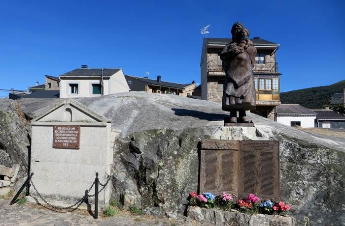 Homenaje a las víctimas de la rotura de la presa en Ribadelago Viejo Lago de Sanabria
