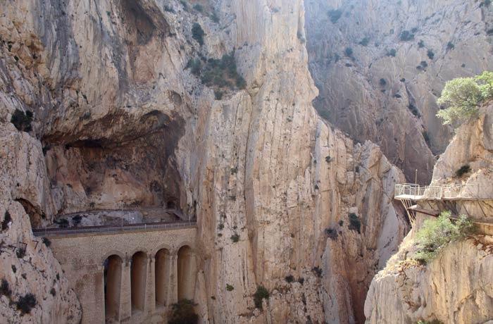 Viaducto del ferrocarril Caminito del Rey