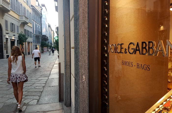 Cuadrilátero de la moda qué ver en Milán