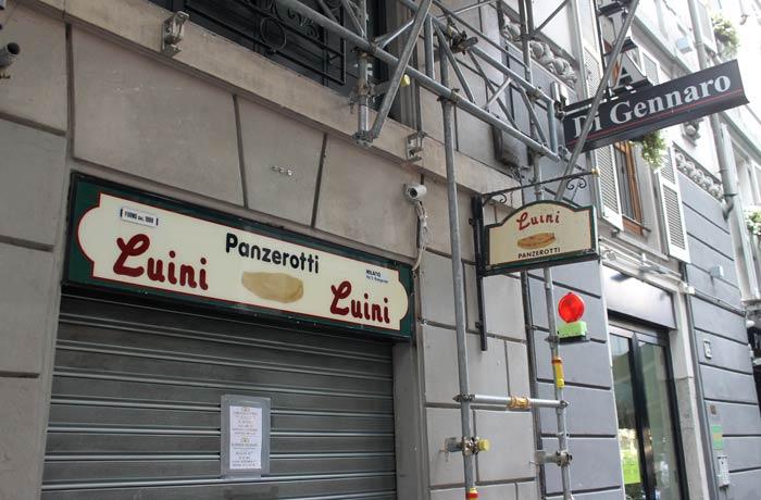 Luini, cerrado por vacaciones qué ver en Milán