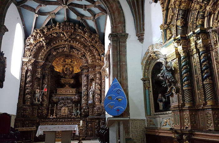 Retablo de la antigua catedral de Braganza