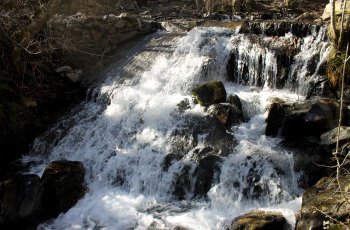 Río Noceda ruta de las Fuentes Medicinales