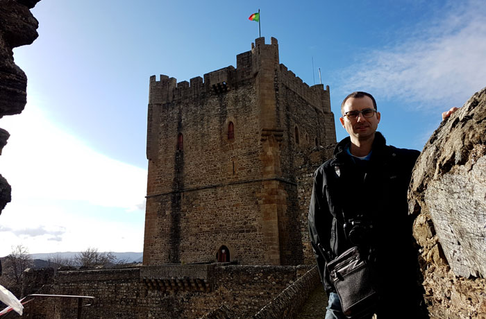 Torre del homenaje del castillo de Braganza