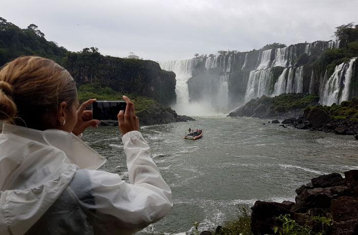 Cascadas del circuito inferior Cataratas del Iguazú