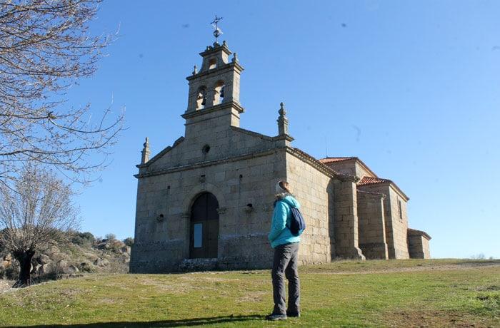 Ermita de Nuestra Señora del Castillo Arribes del Duero senderismo