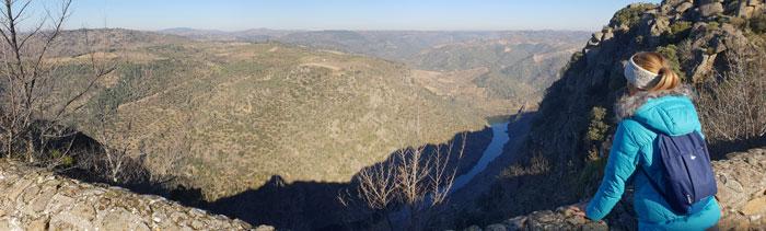 Mirador de la ermita de Nuestra Señora del Castillo Arribes del Duero senderismo