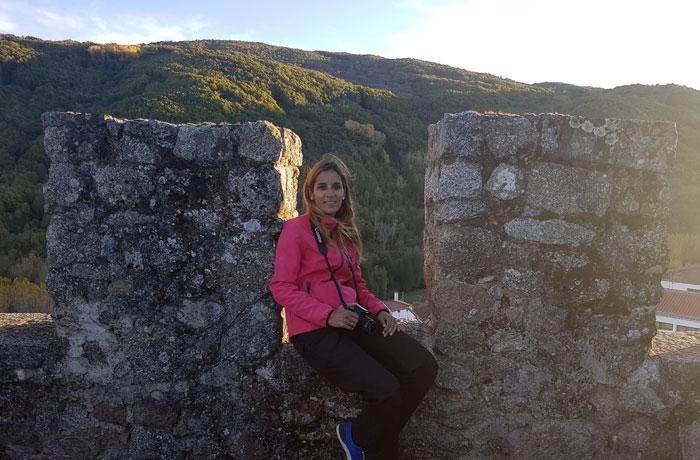 Almenas del castillo de Montemayor del Río
