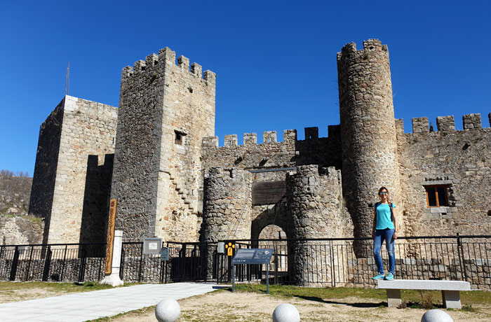 Castillo de San Vicente de Montemayor del Río
