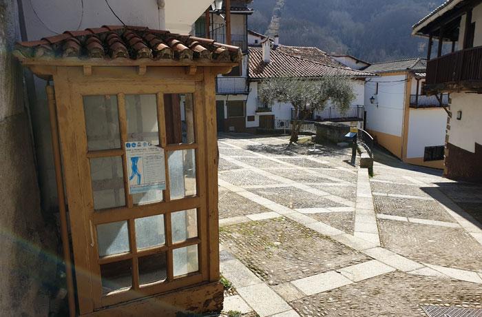 Antigua cabina y mirador de la villa