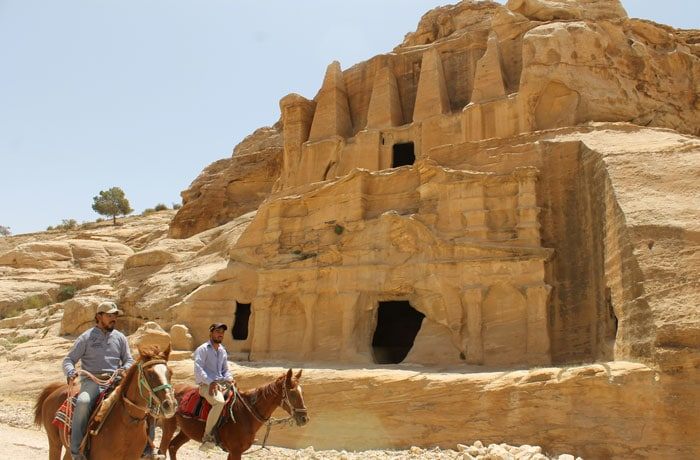 Tumba del Obelisco que ver en Petra