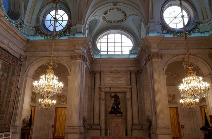 Salón de Columnas del Palacio Real de Madrid