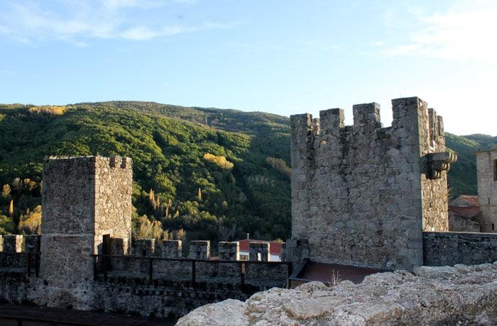 Torres del castillo de San Vicente