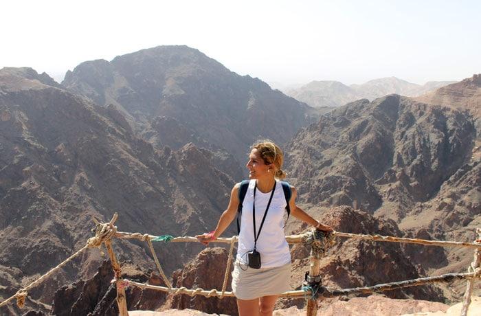 Vistas de Wadi Araba que ver en Petra