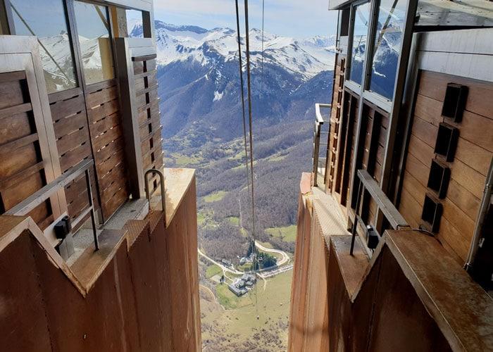 Vistas desde el teleférico de Fuente Dé Liébana y Picos de Europa