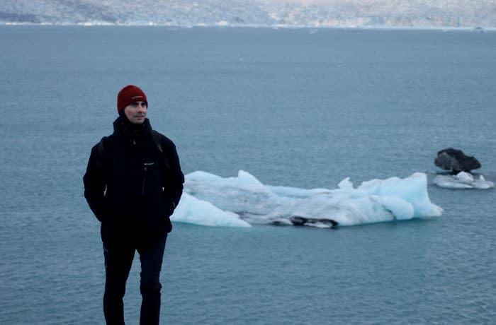 Hielo en el lago Jökulsarlon