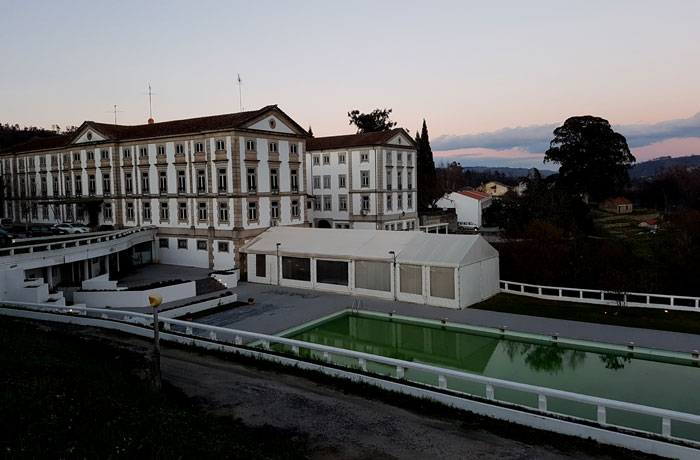 Vista del Grande Hotel das Caldas da Felgueira
