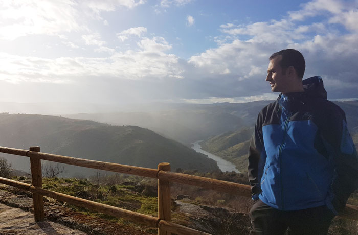 Mirador del Duero en Villarino