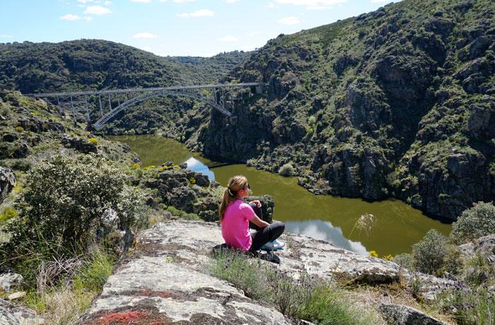 Mirador del puente de Requejo