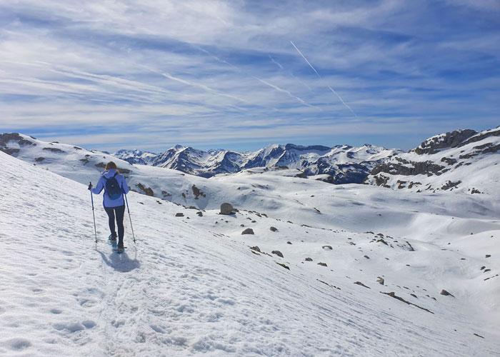 Ruta con raquetas en Fuente Dé Liébana y Picos de Europa
