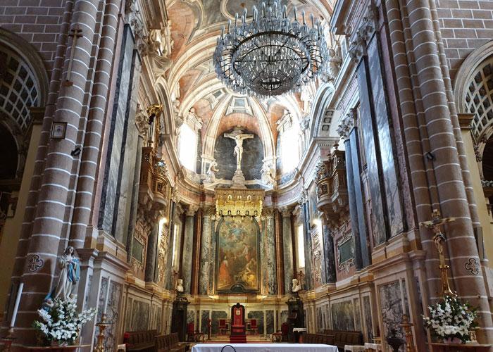Altar de la catedral de Évora