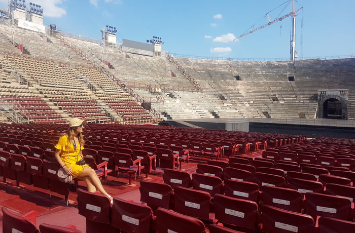 Butacas de la Arena de Verona