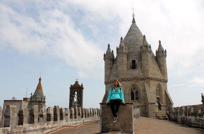 Cimborrio de la catedral de Évora