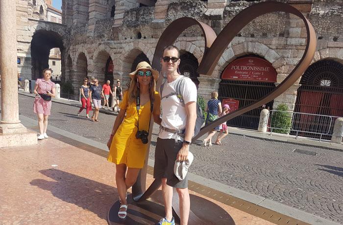 Ante el corazón de Verona